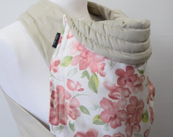 MEI TAI Baby Carrier / Sling  / Reversible / Flower Dream in  straight cut model / Handmade / Made in UK