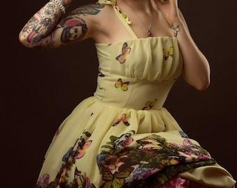 Butterfly dress By TiCCi Rockabilly Clothing