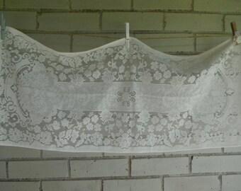 short runner dresser mat lace mat lace runner shabby decor table decor floral lace mat cottage decor cottage chic white dresser mat