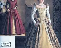 Simplicity 3782 Misses' Elizabethan Tudor Queen Costume Sewing Pattern SCA Renaissance Andrea Schewe Size 14, 16, 18 and 20