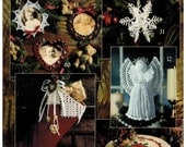 Leisure Arts Leaflet 2941 Our Best Christmas Thread Crochet - Angles, ornaments, coasters, frames