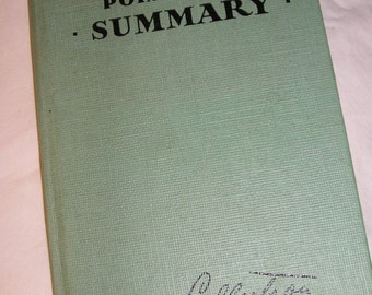 Culbertson's Point-Count Summary ~for Contract Bridge~1953 edition