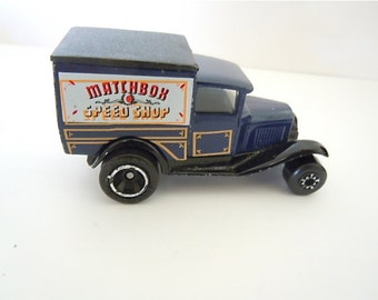 Matchbox Speed Shop Truck Collectible Toy Car Model A Ford 1979 Superfast