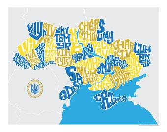 Ukraine Type Map