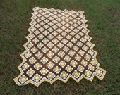 RESERVED   Unique Granny Square Afghan