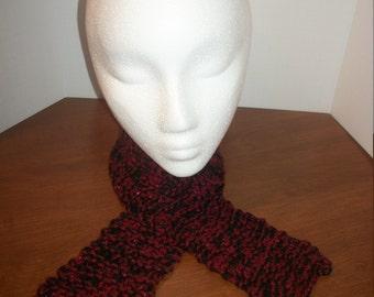Knit Short Elegant Scarf (A28)