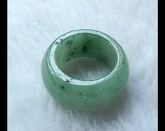 Jade Gemstone Ring,33x14mm,19.34g