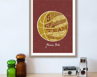 Hoosiers Movie, Indiana Basketball Decor, Movie Quotes, Sports Quotes, Coach Gift, Basketball Gifts, Hoosier, Basketball Nursery