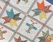 Seeing Stars Baby Boy Quilt -For Janel-