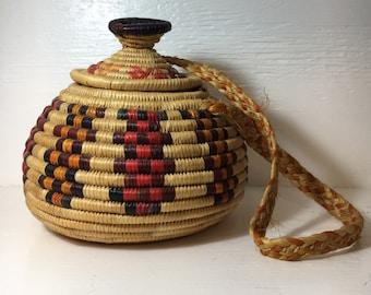 North african purse basket