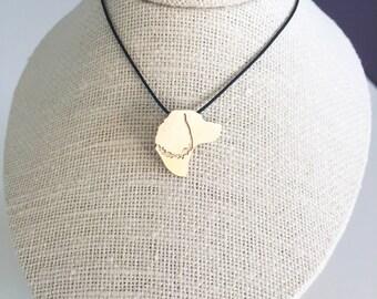 English Springer Spaniel necklace, English Springer Spaniel charm, Brass dog necklace, pet memorial gift