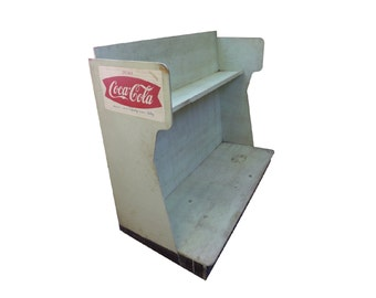 1960s Coca-Cola Wood Bottle Rack Display