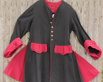 Pirate Coat (CT-PIR-DK), costume