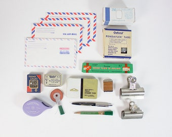 Vintage Office Supply LOT - Instant Collection