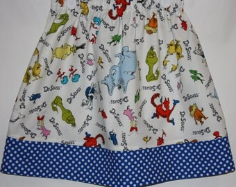 Dr Seuss Skirt    Size 2 to 8