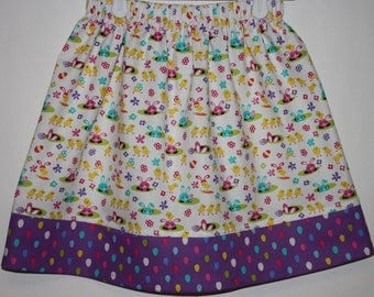 Easter Skirt  Size 2 - 8