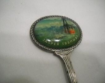 Collectible Jasper Tramway Canada Souvenir Spoon