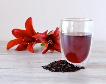 Organic Red Wine Pu-erh Tea • 8 oz. Kraft Bag • Aged Loose Leaf Tea with Red Wine Grapes