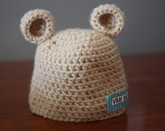 VBAC Baby Crochet Bear Hat