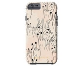 DUECES peace out print iPhone 6/6s, iPhone 6/6s PLUS,  iPhone 5/5s case, Samsung Galaxy S6