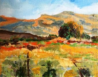 Man's Land - Small Fine Art - Oil on Canvas