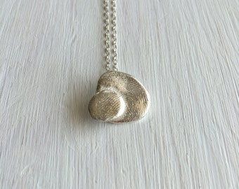 one of a kind silver pendant - unique silver pendant - Animal inspiration - art jewelry