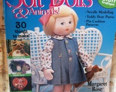 Soft Dolls & Animals Magazine, May 2003, Full - Size Patterns, Sewing, 30 things to make
