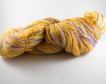 Handspun Yarn, Handpainted Yarn, 318 yards, 18 wpi, Sport Weight, The Color of Iris