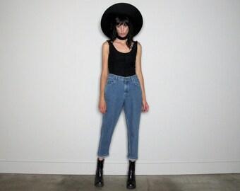 High Rise LEE Mom JEANS Vintage 90s Denim Womens Size 29 Waist