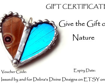 40 Dollar Gift Certificate, Gift Card, Gift Email