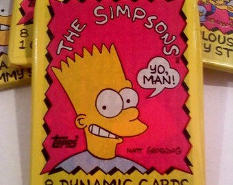 Simpsons Trading Cards- BART