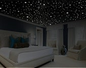 Romantic bedroom decor (486 pcs.) Glow in the Dark Stars, Romantic Gifts, Romantic Wall Decal, Glow Stars, Ceiling Stars, 10 HOUR GLOW!!