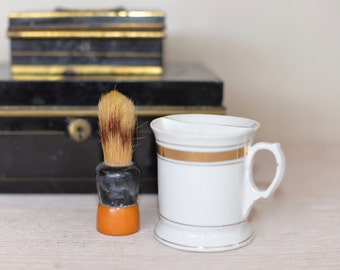 Vintage Shaving Cup and Brush