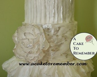 Wafer Paper For Cake Decorating- Tips and Tricks PDF downloadable file
