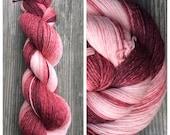 Hand Dyed Yarn, Gradient Yarn, Fingering Weight Yarn, Ombre Yarn