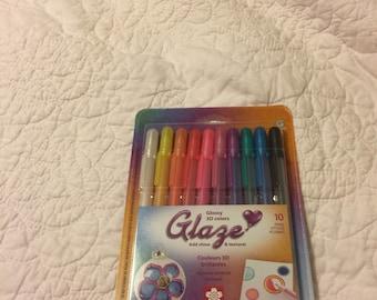 Sakura Gelly Roll 10 Pens GLAZE