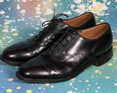 Johnston & Murphy Men's Captoe Dress Shoe Size 8 .5