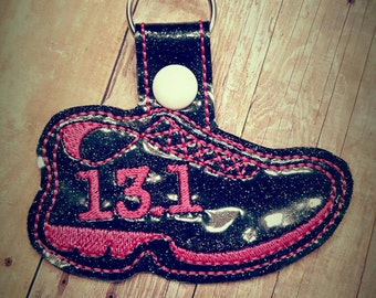13.1 Running Shoe Key Fob