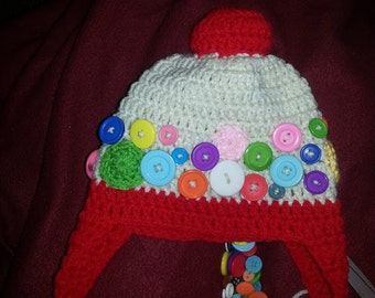 Bubble Gum Machine Hat