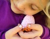 Hatched Chicken Egg / Crocheted Easter Egg