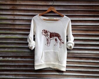 ya big lug St. Bernard Shirt, Big Dog, Dog Sweater, Gift for a Dog Lover, S,M,L,XL,2XL