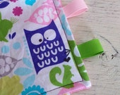 READY TO SHIP - Pastel Owl Crinkle Square