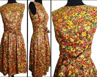 Vintage 1950s Dress // Suzy Perette // 50s  Dress //New Look //Femme Fatale//Rockabilly//Mad Man//Mod//Cocktail Dress
