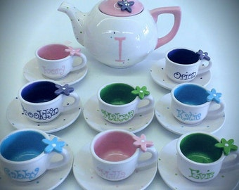 Whimsy Flower Tea Party Set