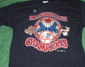1996 New York Yankees AL Champions shirt NOS Logo 7 XL