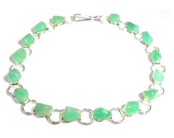 Chrysoprase Bracelet Kazakhstan