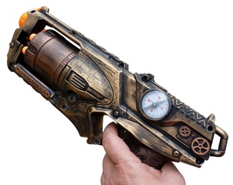 Steampunk TOY gun Nerf Strongarm soft dart toy Cyber gothis cospla Vampire Zombie Man Wholesale price