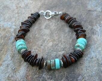 Mens Bracelet Beaded Bracelet Mens Fashion Bracelet for Man Guys Jewelry Tribal Bracelet Fathers Day Gift Southwestern Jewelry