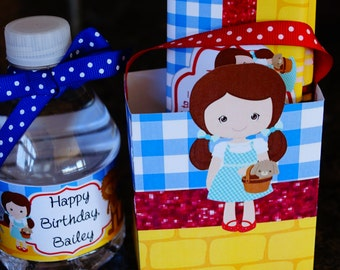 Wizard favor box, Dorothy favor box, Wizard party, Wizard party favors, Wizard, Favor Boxes. Set of 10