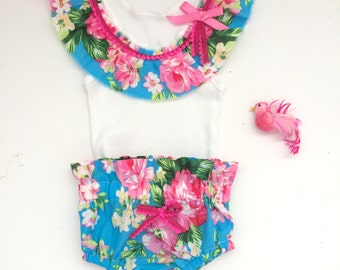 Perfect Summer Baby Bloomers/ Tank Set
